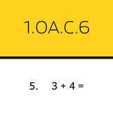 1.OA.C.6: Add within 10 (50 worksheets)