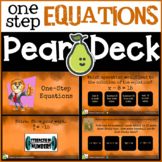 1 One-Step Equations Distance Learning Pear Deck/Google Slides