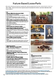 1 Page Plan Nature Based Loose Partsfor NQS, EYLF and Kind