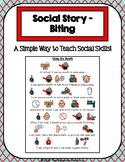 1 Page Social Story - Biting