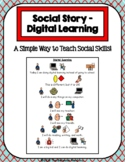 1 Page Social Story - Digital Learning (Elementary)