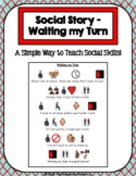 1 Page Social Story - Waiting my Turn
