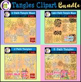 Tangles Clipart BUNDLE