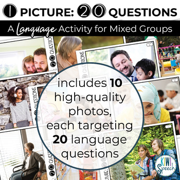 1 Picture 20 Questions: A Language Activity for Mixed Language Groups
