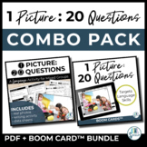 1 Picture 20 Questions - PDF and BOOM CARD Combo Pack