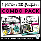 1 Picture 20 Questions Spring - PDF and BOOM CARD Combo Pack
