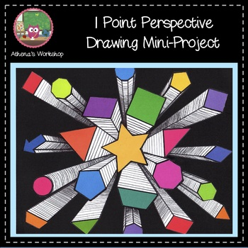 1 Point Perspective Drawing Mini-Project