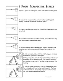 1 Point Perspective Street Handout
