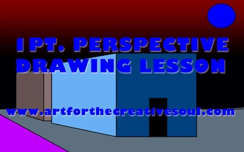 1 Pt. Perspective Drawing Lesson