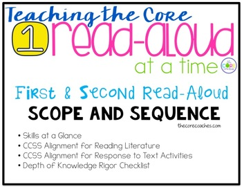 Teaching the Core, 1 Read-Aloud at a Time: 1st and 2nd Gra