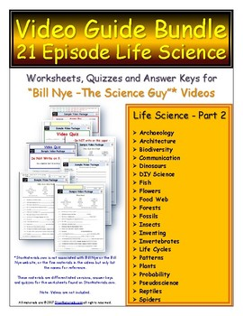 1 SSL Site License Differentiated Bundle - Bill Nye Life Science Part 2 *
