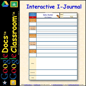 1 SSL Site License DIGITAL Journal for Students for Google Doc™️
