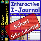 1 SSL Site License DIGITAL Journal for Students for Google Doc™️