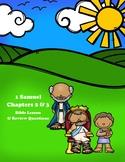 1 Samuel Bible Lesson – Chapters 2 & 3 (ESV)