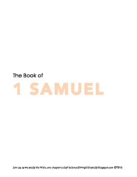1 Samuel WORD Guide