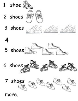 Counting Shoe Poem
