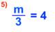 1 Step Equation Bingo