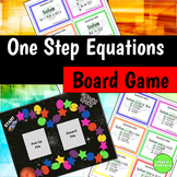 One Step Equations Board Game