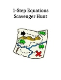 1 Step Equations Scavenger Hunt