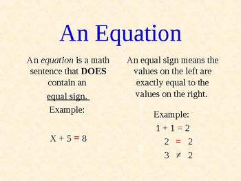 1-Step Equations with Addition & Subtraction