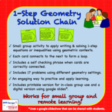 1-Step Geometry Solutions Hierarchy