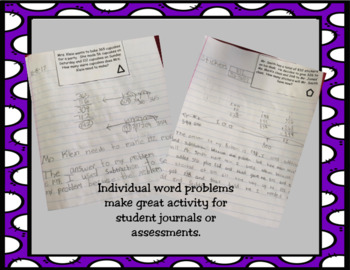 1 Step Multiplication & Division Problem Solving-Task Cards included