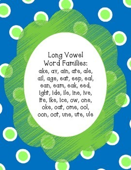 Long Vowel - Real or Nonsense Words - NO PREP Cut & Paste Printables - Raindrops