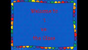 1 VS the Class:  A Music Class Game
