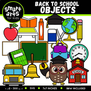 Back to School Clip Arts COLOSSAL Bundle ($21 value)