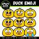 Spring Animals Emoji Clipart Bundle