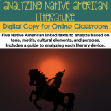 1 Week of Distance Learning: Early Native American Literat