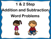 1 and 2 Step Addition and Subtraction Word Problems