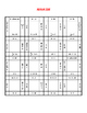 1 and 2 Step Equations Puzzle