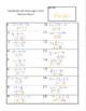 1 and 2 Step Equations QR Code Scavenger Hunt/Task Cards