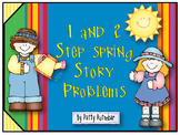 1 and 2 Step Spring Story Problems