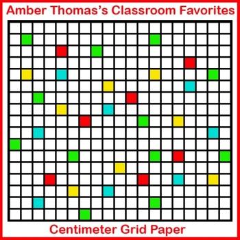 centimeter grid paper teaching resources teachers pay teachers