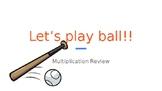 1-digit Multiplication Baseball Review