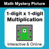 1-digit Multiplication - Distance Learning - Interactive M