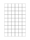 Graph Paper 1 inch by 1 inch