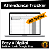 1 min PD for Google Sheets | Daily Attendance Tracker | Di