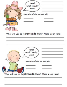 1 month Persuasive Writing Unit