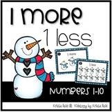 Winter One more, One less - Math Center - SCOOT