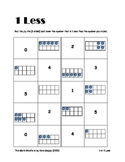 1 or 2 Less Math Station