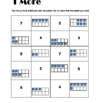 1 or 2 More Math Station