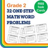 1-step Word Problems Grade 2 TASK CARDS