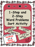 1-step and 2-step Word Problem Sort Activity - 3rd Grade