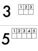 1 to 1 Correspondence Task Book (#1-5)