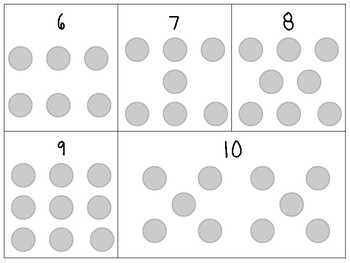 1 to 1 counting mats (1-20)