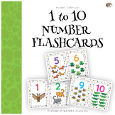 1 to 10 number flashcards