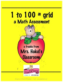 1 to 100 Grid, Skip Counting, 100 Chart, Number Sense, Math Basics